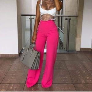 MCM Hot pink hi rise Pants